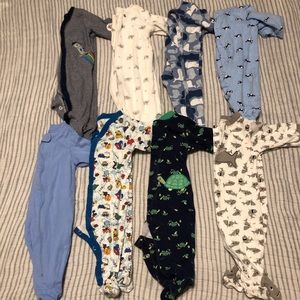 Baby Boy Pj Lot